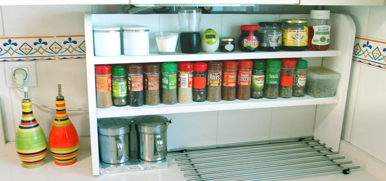 C mo hacer un estante especiero para camuflar tuber as for Cocinas a gas economicas