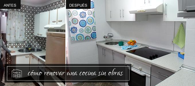 Como Renovar Una Cocina Sin Obras Of C Mo Renovar La Cocina Sin Obras Piensa En Deco