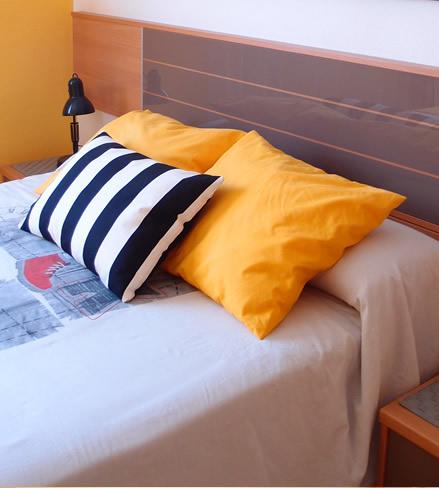 redecora el dormitorio con textiles