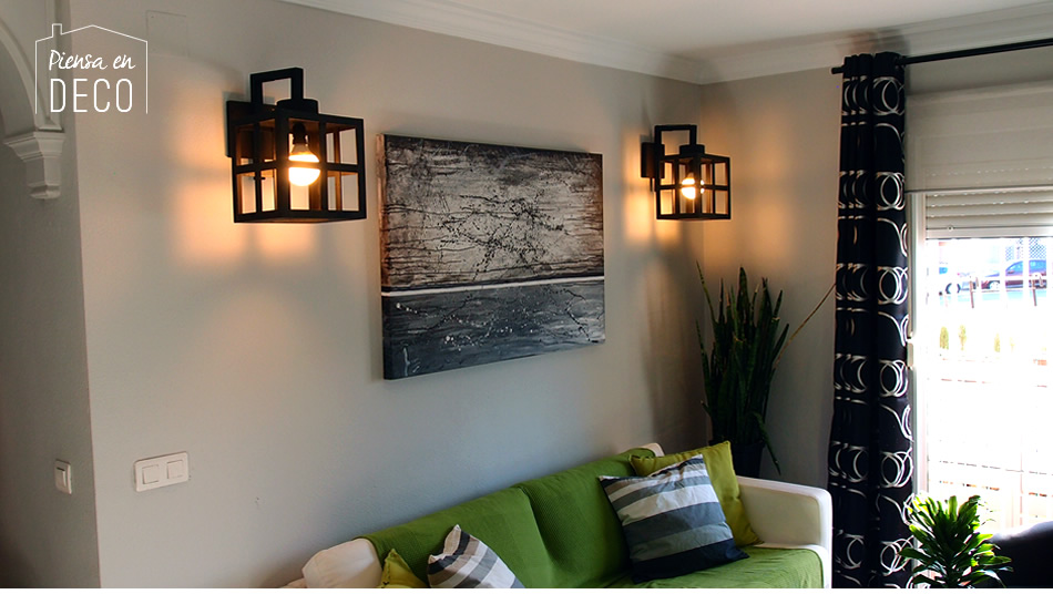 wooden wall lamp diy