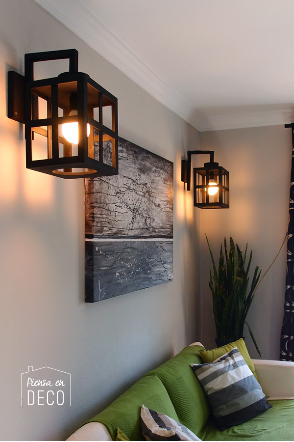 wall lamp diy