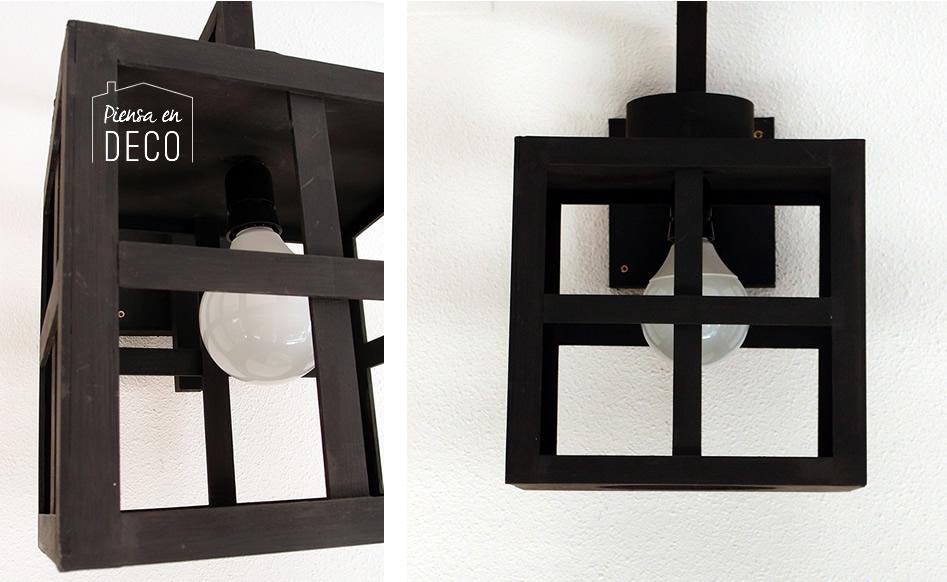 diy lampara madera japonesa - detalle 1