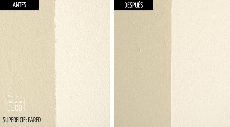 como pintar franjas perfectas en la pared