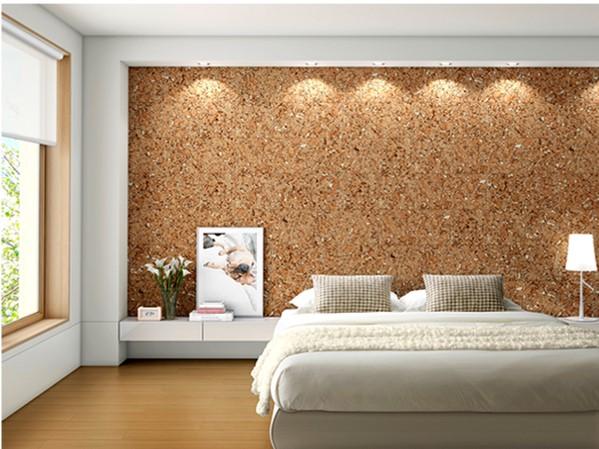 pared de corcho moderna