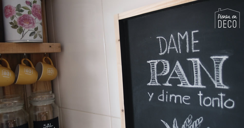 diy chalkboard kitchen