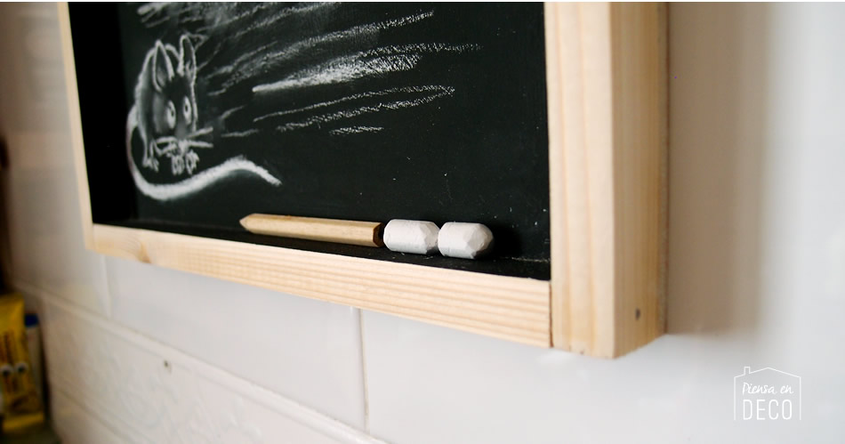 chalkboard kitchen step by step