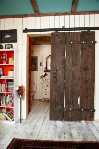 cocina puerta granero