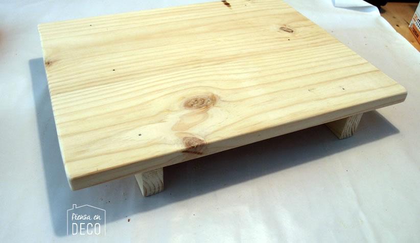 montar taburete japones