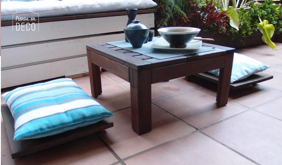 como hacer un taburete japones