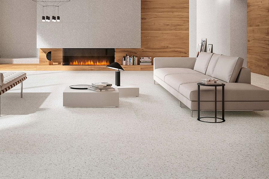 Matt Grey Kitchen Floor Tiles