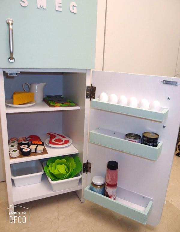 frigorifico vintage para niños