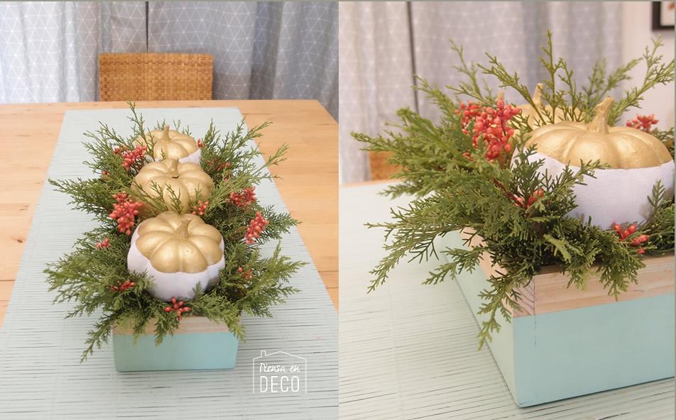 centerpiece box wooden - halloween