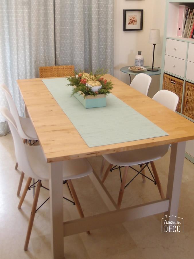 decorar con centro de mesa