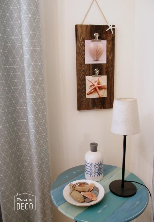 portafotos diy madera reciclada