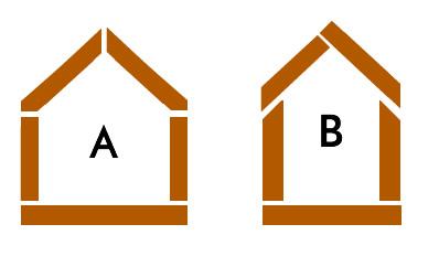 guía de corte para casita de madera