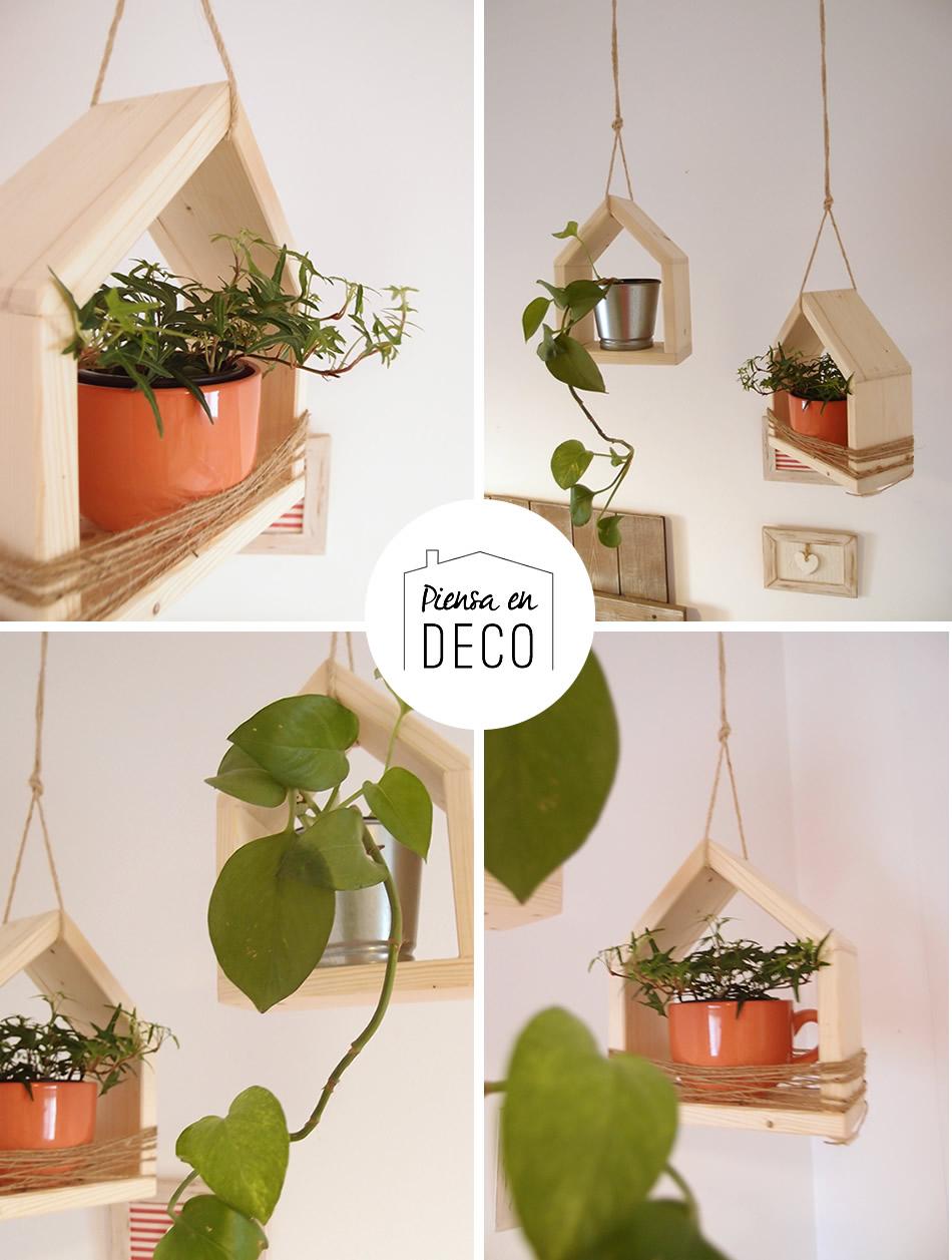 casa para plantas colgantes